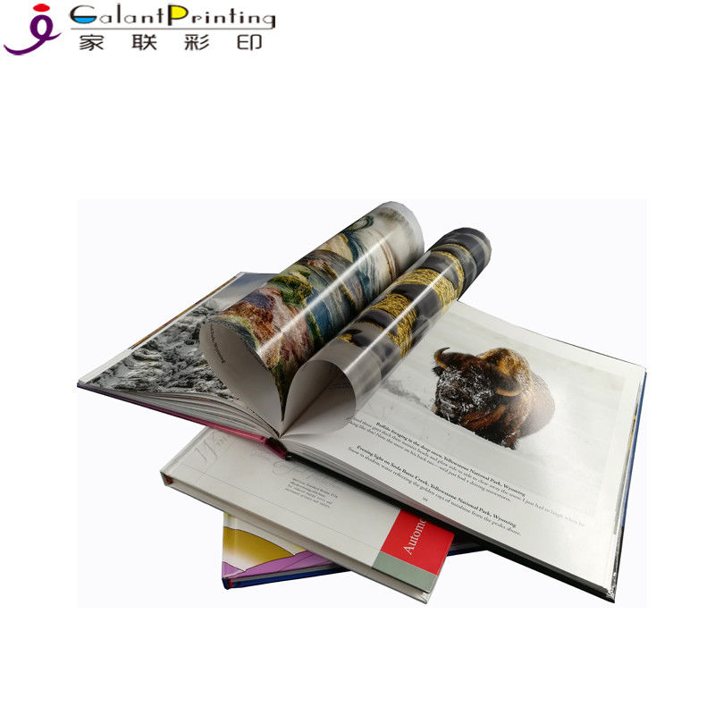 Colorful  Square Hardcover Book Printing Services Film Lamination OEM Service